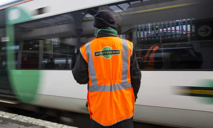 A Southern rail conductor.