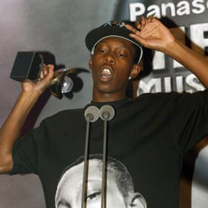 Winning the Mercury prize in 2003, aged 19