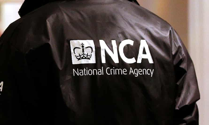 Officers from Britain's National Crime Agency intercepted a yacht carrying 1,500kg of cocaine off Plymouth.