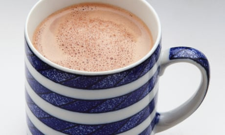 Notes on chocolate: cold weather calls for a mug of something hot
