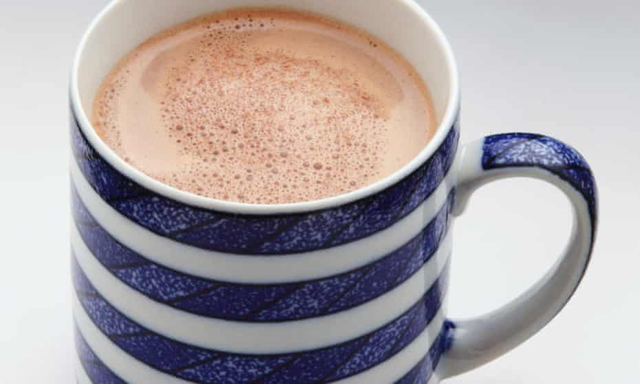 Sweet and hot: admit it, a milky cup of chocolate would make everything a bit better.