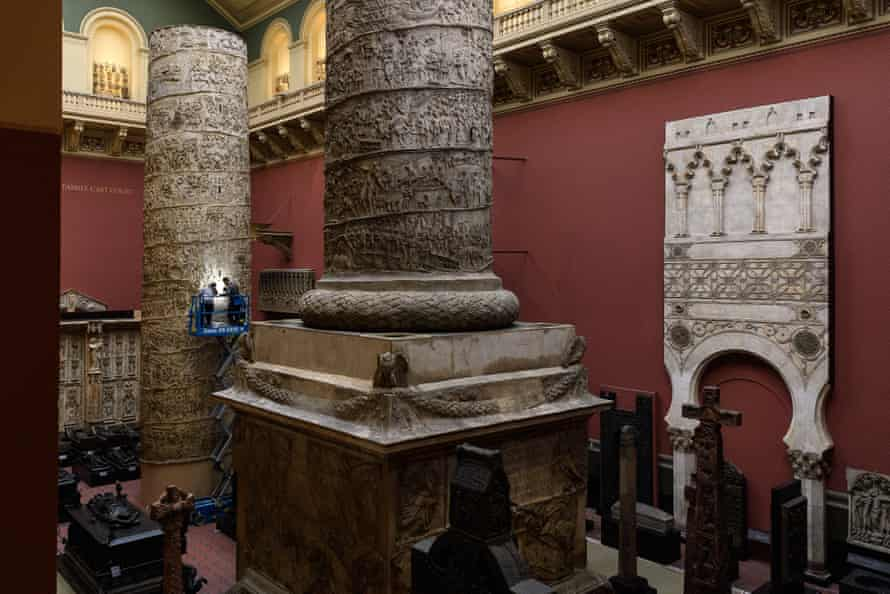The Cast Courts in the V&A.