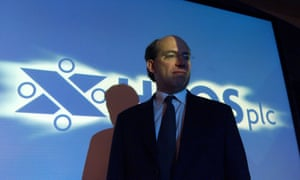 James Crosby at the start of his career at HBOS in 2002.