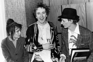 1981<br>John Lydon, Keith Levene of PiL