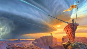 A special edition of Way of The Kings by Brandon Sanderson, which has become the biggest ever publishing project on Kickstarter.