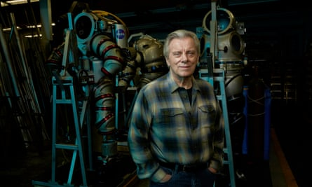 Deep thinker: Phil Nuytten, self-taught underwater genius at Nuytco Research, his firm in Vancouver.