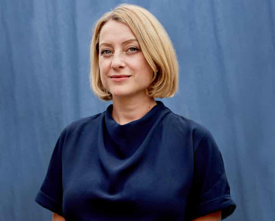 Portrait of paediatric nurse and author Christie Watson