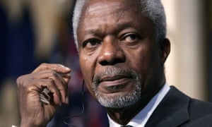 Former UN secretary general Kofi Annan had also been appointed UN-Arab League's joint special envoy to Syria while the Arab spring was slowly morphing into the enduring civil war.