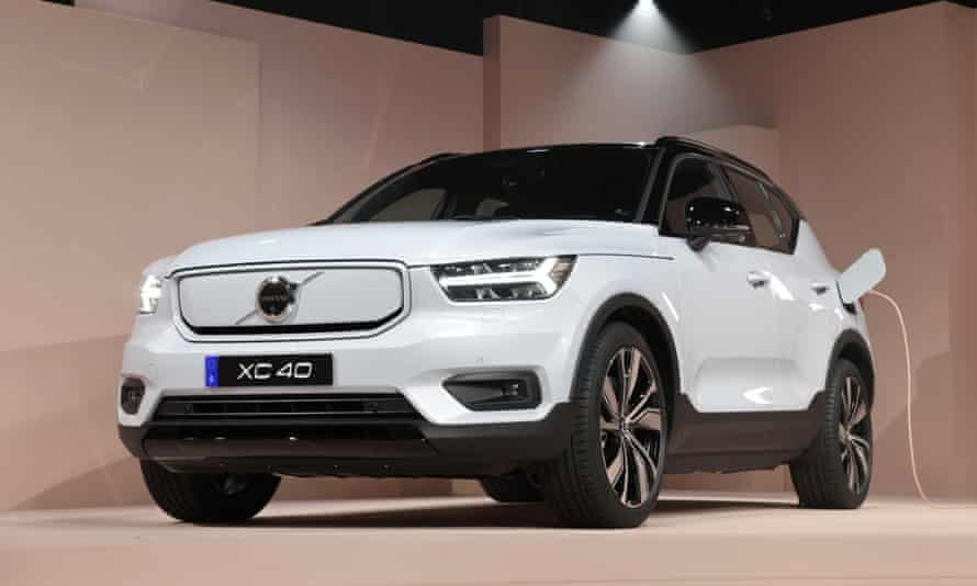 Volvo's first fully electric car, the XC40