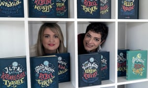 Good Night Stories for Rebel Girls authors Elena Favilli and Francesca Cavallo.