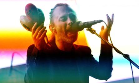 Thom Yorke … Still making his mind up.