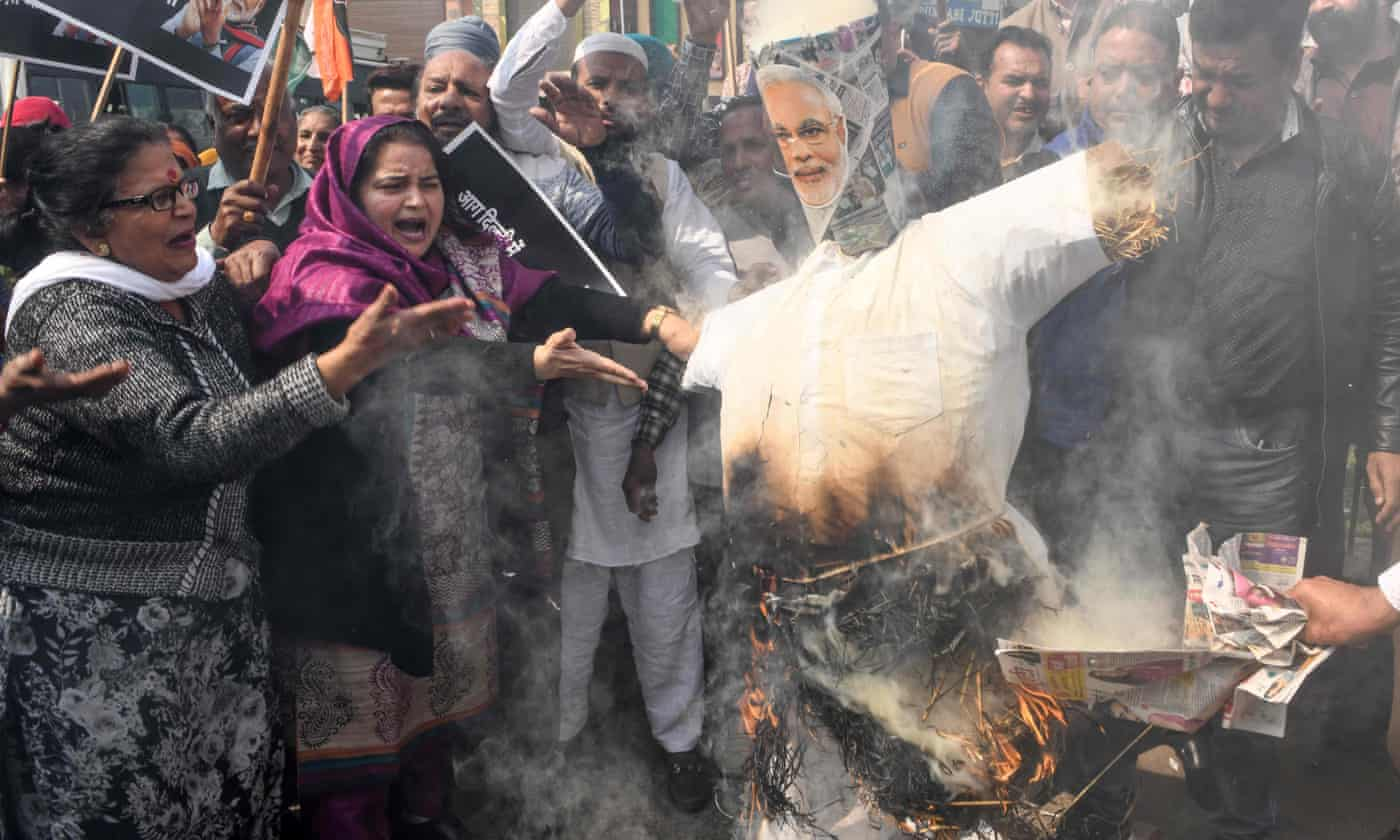 Anti-Muslim violence in Delhi serves Modi well
