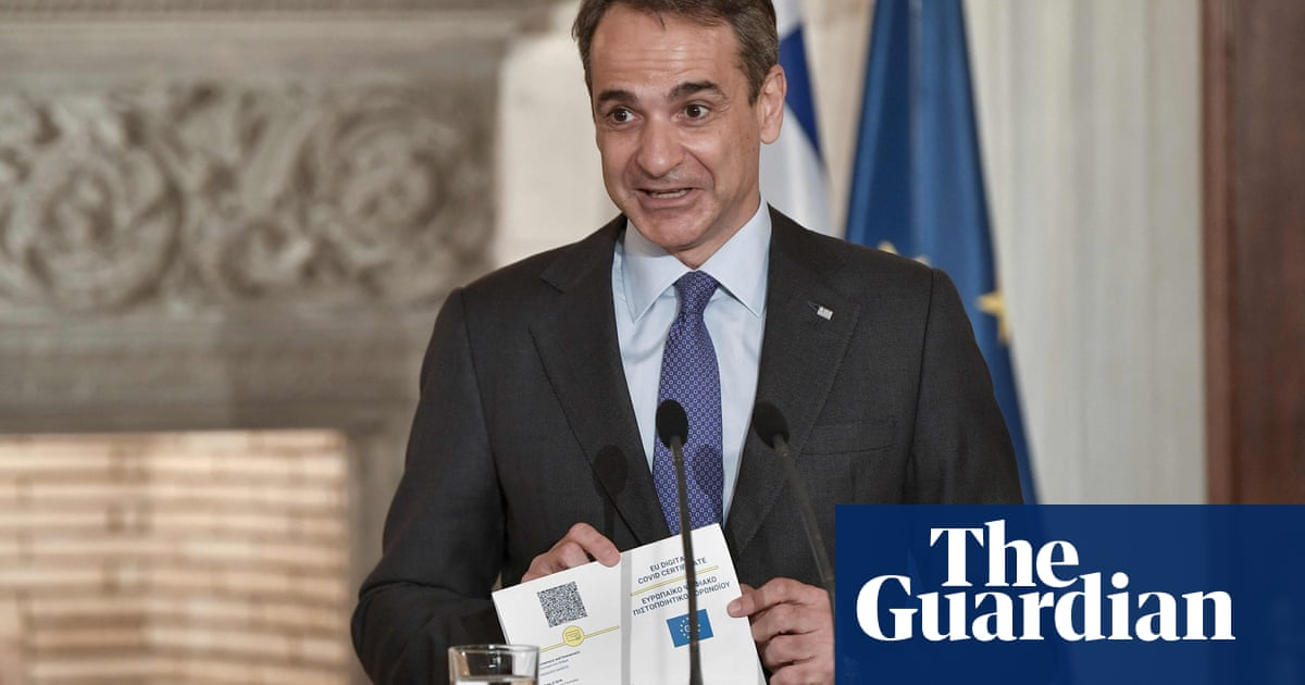Greece unveils first EU Covid passport as 'fast lane to travel'