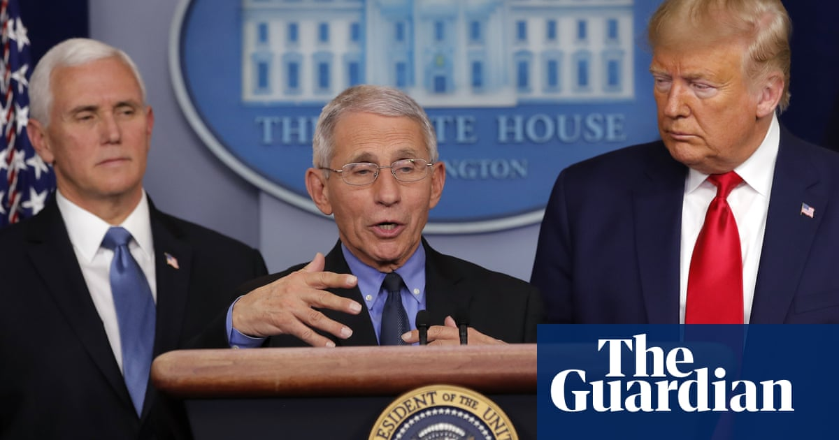 Donald Trump: 'I have a very good relationship with Anthony Fauci' – video – The Guardian