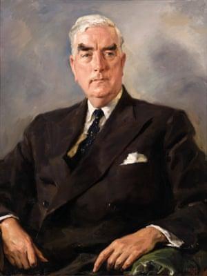 The Rt Hon. Sir Robert Gordon Menzies KT AK CH QC.Ivor Hele (1912–1993)