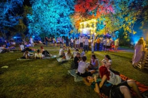 Romania's Summer Well Festival - 'The most beautiful festival venue in the world with a lake, swans and a forest.'