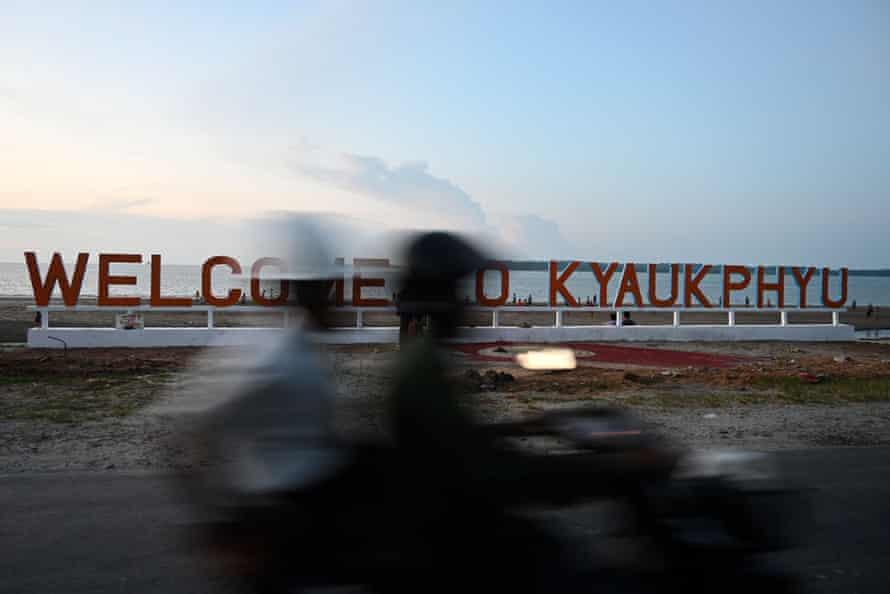 Rohingya in the coastal state of Rakhine