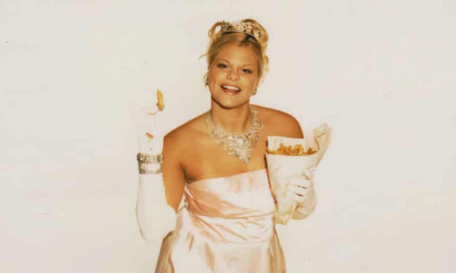 Jade Goody at the height of her fame.