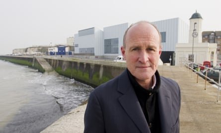 Bazalgette at the Turner Contemporary Gallery in Margate. He said there are new opportunities he would like to take up.