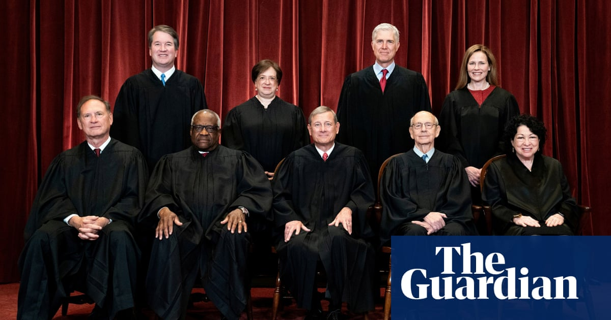 US supreme court convenes for pivotal term – with its credibility on the line