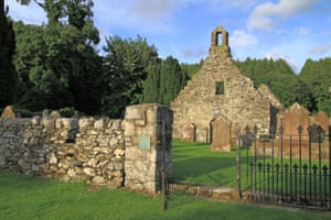 The village of Anwoth is the home of the church ruins seen in The Wicker Man.