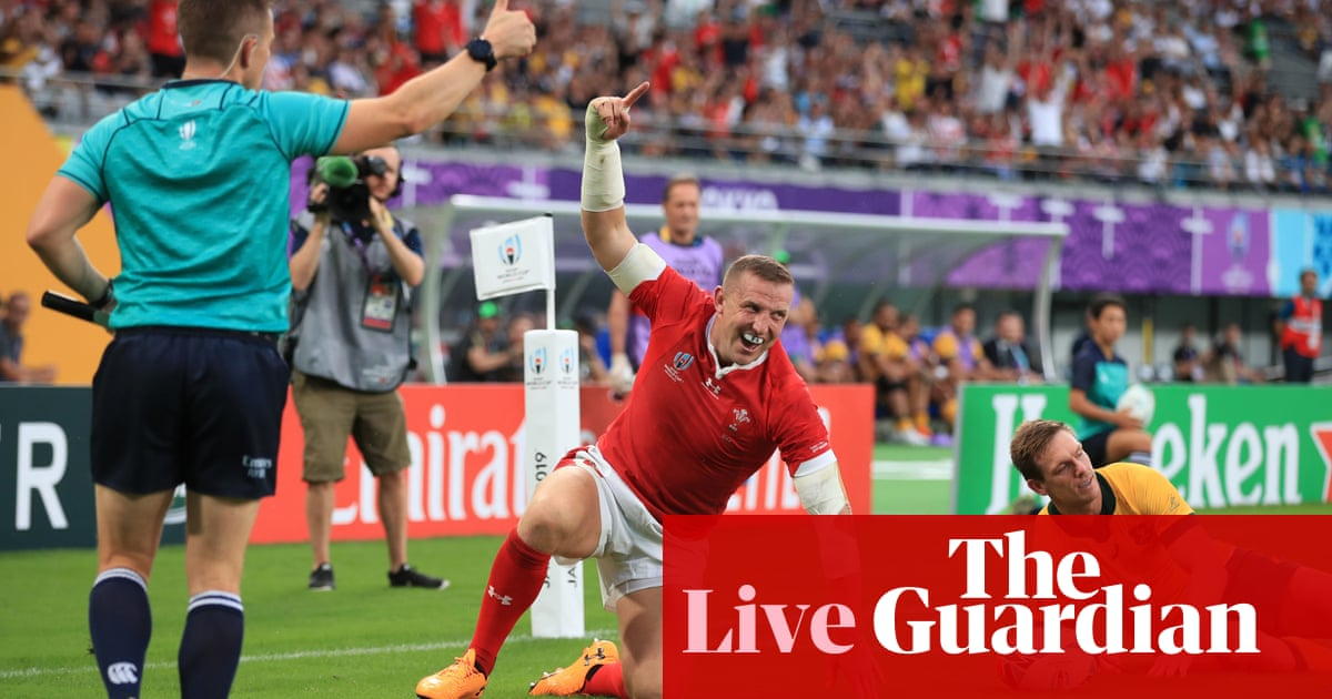 Australia v Wales: Rugby World Cup 2019 – live!