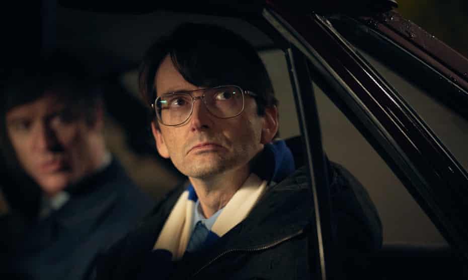 David Tennant as serial killer Dennis Nilsen in Des.