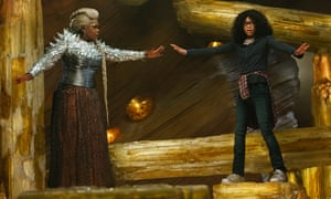 Oprah Winfrey as Mrs Which and Storm Reid as Meg Murry in A Wrinkle in Time