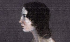 Emily Brontë. Portrait derived from a painting by her brother, Patrick Branwell Brontë, c.1833.