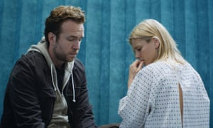 An honest and affecting family drama ... Rafe Spall and Emilia Fox in Mum's List.