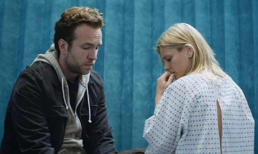 Honest and dignified … Rafe Spall and Emilia Fox in Mum's List