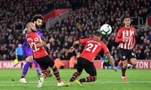 Mo Salah ended his goal drought to put Liverpool in front
