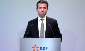 EDF finance chief Thomas Piquemal