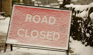 Icy reception from conventional publishers ... road closed sign.
