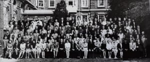 John Prescott at Ruskin in 1965 (4th from left, top row).