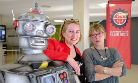 The rise of the killer robots – and the two women fighting back