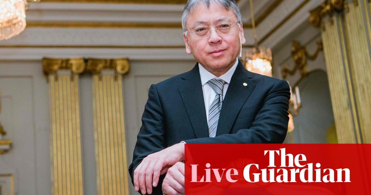 Nobel prize in literature: two laureates to be named – live