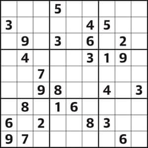 Sudoku 4465 expert