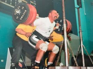 Grant Edwards powerlifting
