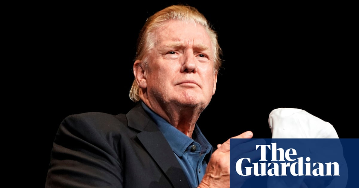 Comb over? Donald Trump sports new hairstyle after golf trip | US