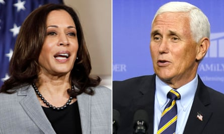 White House Covid-19 outbreak overshadows vice-presidential debate | US  elections 2020 | The Guardian