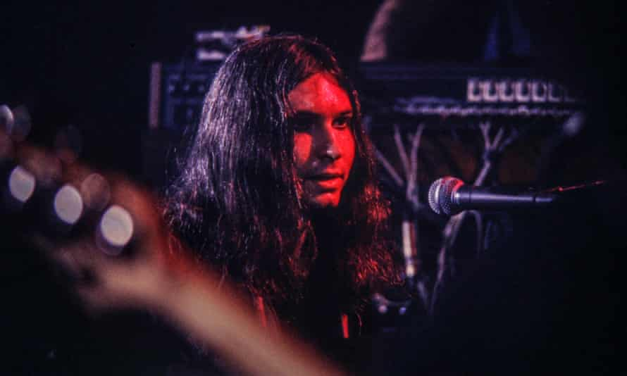 Jim Steinman performing with Meat Loaf at the Tower theatre in Philadelphia, 1978