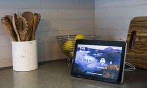 Amazon's Echo Show smart speaker and screen.