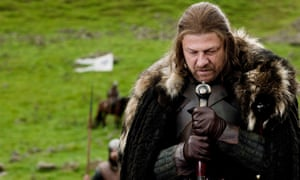 Sean Bean as Ned Stark