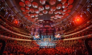 Patrick Hawes's Great War Symphony being performed at the Royal Albert Hall.