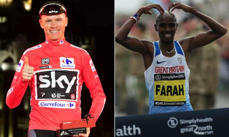 Chris Froome won the Vuelta on Sunday as Mo Farah clinched the Great North Run.