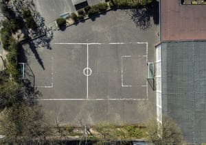 The pitch on Bachemer Strasse in Lindenthal