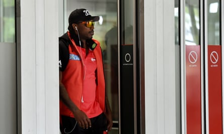 """Melbourne Renegades batsman Chris Gayle has been fined $10,000 but not suspended as the Big Bash League side labelled his controversial sideline interview with Channel Ten's Mel McLaughlin a """"one off scenario""""."""