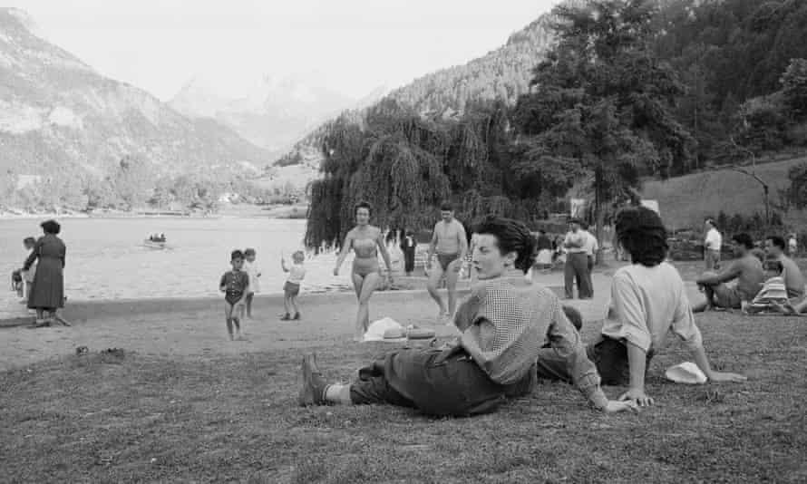 Lauzet in the 1950s