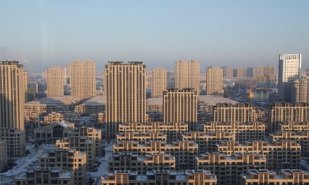 High-rises in Harbin's Songjiang district.